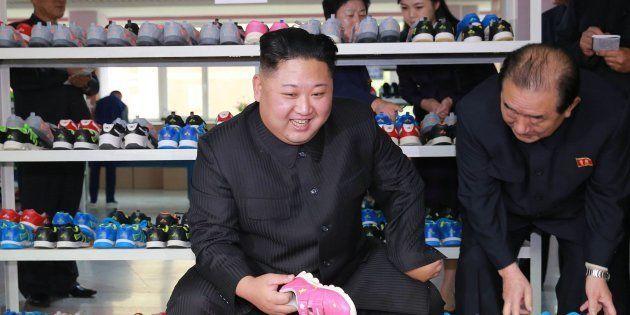 Imagen sin fechar del líder de Corea del Norte, Kim