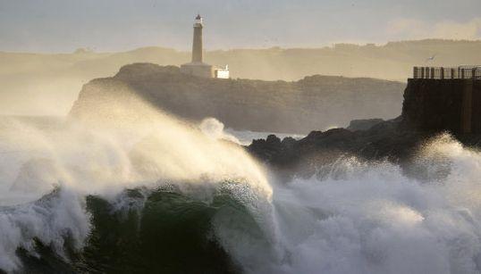 Un temporal dañino, sobre todo para Galicia