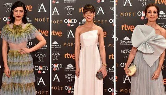 La noche en blanco: los mejores vestidos de los Goya