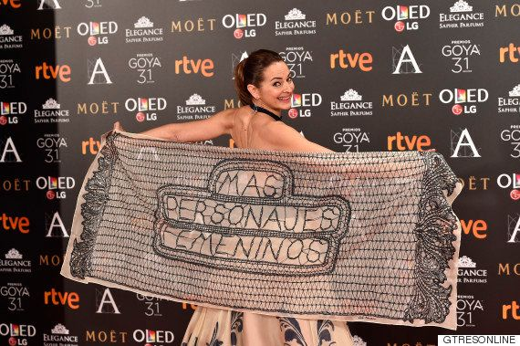Mujeres, Rajoy, pajaritas y el glamour del cine: los Goya 2017 desde