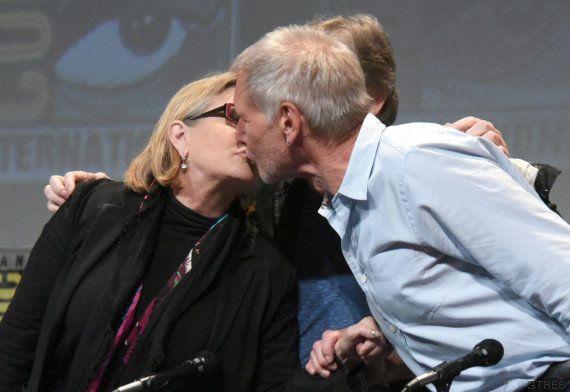 La petición de Carrie Fisher a Harrison Ford para el 'In memoriam' de los