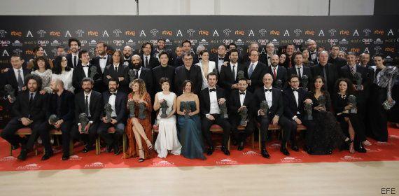 La gala de los Goya, líder de audiencia con un 23,1 % de cuota de