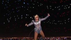 El momentazo de la Super Bowl: el salto de Lady Gaga desde el techo del
