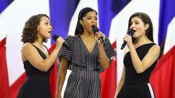 El guiño feminista de las cantantes del musical 'Hamilton' en la Super