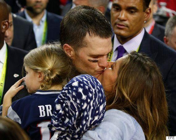 Gisele Bündchen, fuera de sí por la victoria de los Patriots en la Super