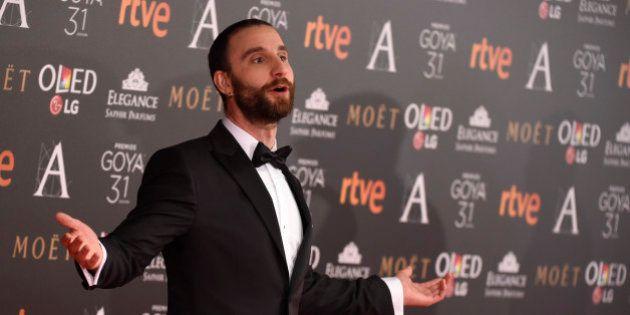 Dani Rovira agradece a siete personas su felicidad tras los Goya
