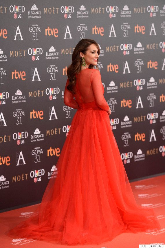 Paula Echevarría cuenta la mala pasada que le jugó el vestido en los Premios