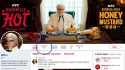 Las geniales 11 personas a las que KFC sigue en