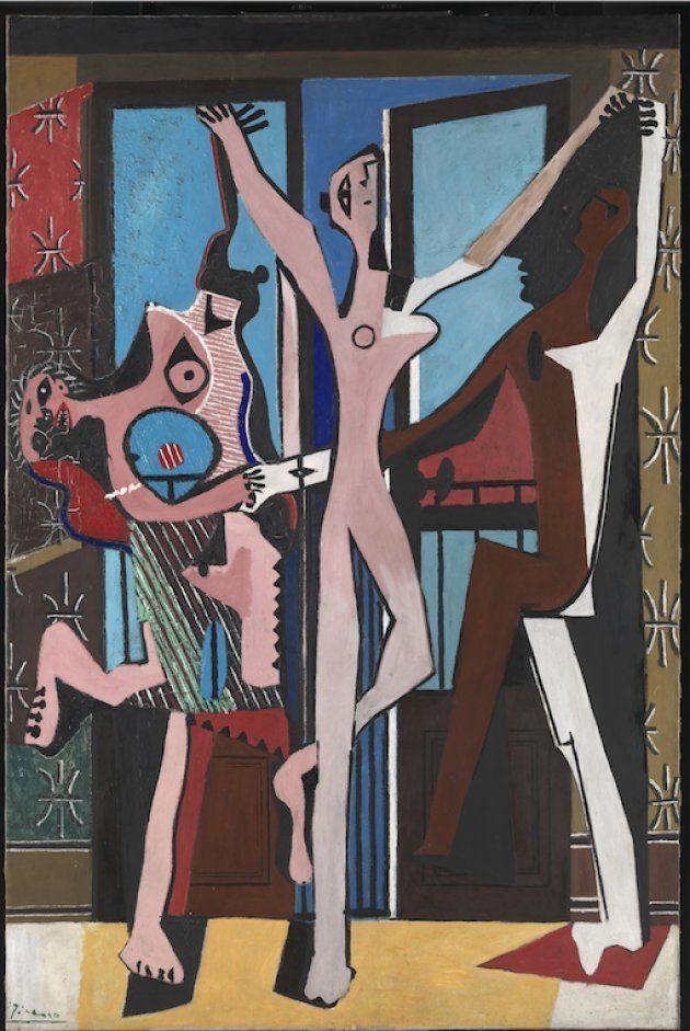 'Las tres bailarinas',