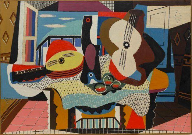 'Mandolina y guitarra',