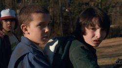 Los niños de 'Stranger Things' enloquecen ante el avance de la nueva