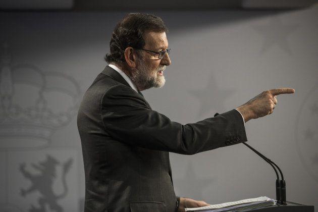 Rajoy dice que las medidas del 155 están