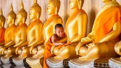 La curiosa (y enorme) manera de este templo budista para atraer