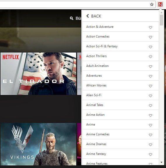 Un sencillo truco para descubrir series y películas en Netflix según lo que te