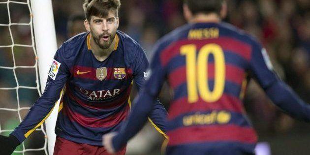 Piqué, tras ver un vídeo del hijo de Messi: