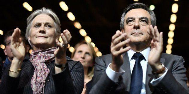 La mujer de Fillon también cobró 45.000 euros del Parlamento por fin de