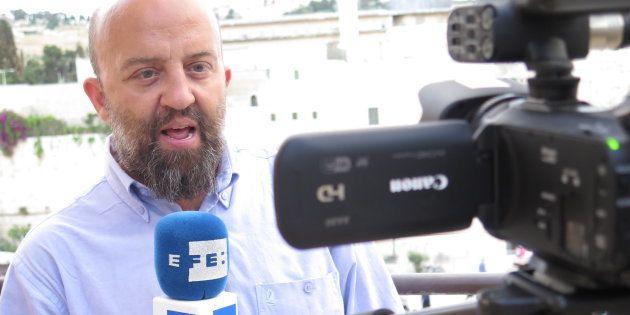 Javier Martín, delegado de la Agencia EFE en el Norte de África, en una imagen de archivo tomada en