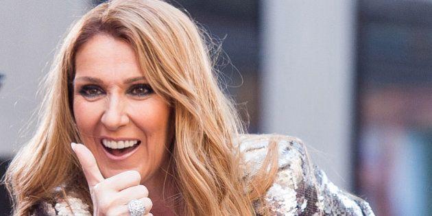 La reacción de Céline Dion a la pedida de matrimonio de una