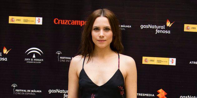 La actriz Aura Garrido en el