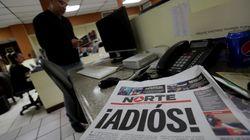 Un periódico mexicano cierra por falta de seguridad tras el asesinato de una de sus