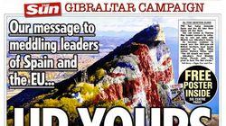 'The Sun' hace bandera de Gibraltar recurriendo a una encuesta de El Huffington