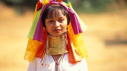 Mujeres jirafa: tu foto, su