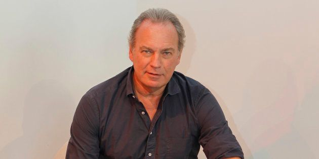 El presentador y cantante Bertín Osborne durante la presentación de su disco