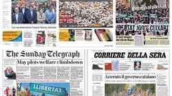 Los titulares del 155: así recogen la prensa la situación en