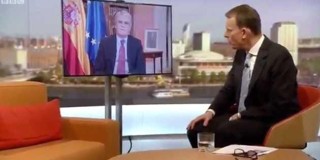 La sorpresa de un periodista de la BBC con lo que dijo Dastis sobre las cargas