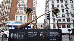 Indignación con lo que ha ocurrido con la escoba de Harry Potter en Callao