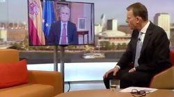 Dastis sorprende a un periodista de la BBC al decir esto sobre las cargas