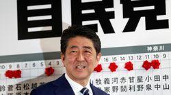 Fácil victoria de Shinzo Abe en