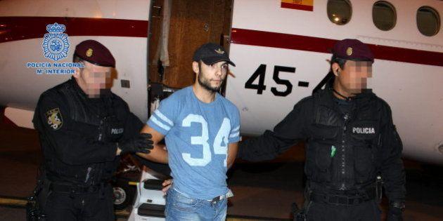 Sergio Morate, a su llegada a España después de ser extraditado desde