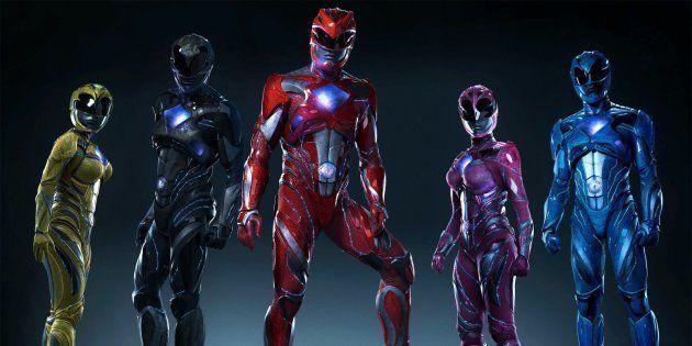 La película 'Power Rangers' se estrena en cines de España este viernes 7 de