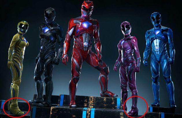 El detalle añadido a las Power Rangers que no les hace NINGUNA