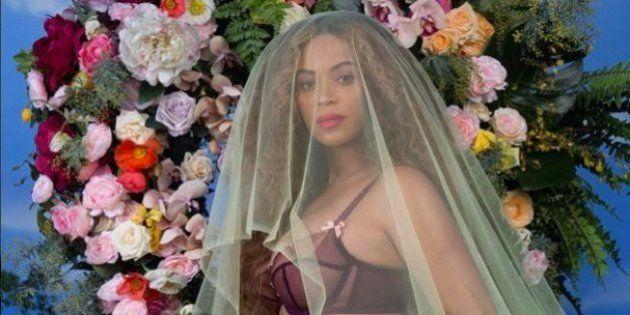 El embarazo gemelar de Beyoncé desata a los imitadores en