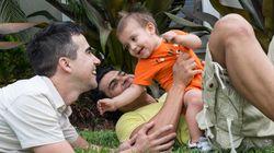 Así es la vida de un hijo con dos padres