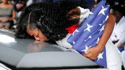 La viuda del soldado muerto en Níger da su versión de la conversación con Trump... Y es peor de lo que