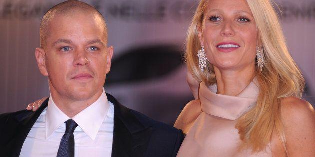 Matt Damon y Gwyneth Paltrow, en el Festival de Venecia en septiembre de