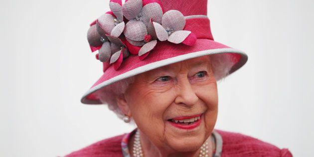 La reina Isabel II, el pasado día 19, en un acto en Hyde Park