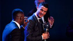Cristiano Ronaldo, premio The Best al Mejor jugador de la