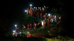 Cruz Roja busca a tres españoles desaparecidos en la zona de la avalancha en