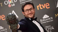 El bonito gesto de Carlos Santos al llevarle el Goya a su hermana