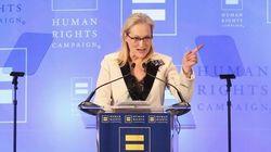 Meryl Streep responde a Trump tras llamarla