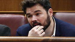 Rufián afea a Évole sus críticas a los políticos presentes en el concierto por los