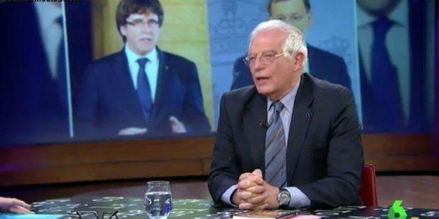 La solución de Borrell al conflicto catalán: