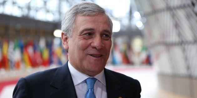 Imagen del presidente del Parlamento Europeo, Antonio