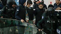 Las presuntas asesinas del hermano de Kim Jong-un visitan la escena del