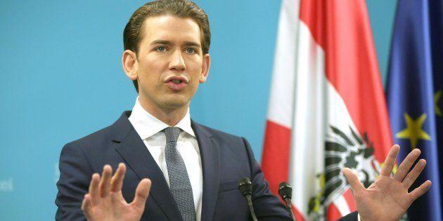 El líder del Partido Popular austríaco, Sebastian