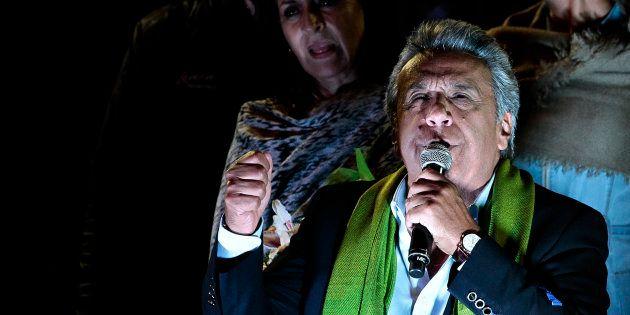 Foto de Lenín Moreno, presidente electo de
